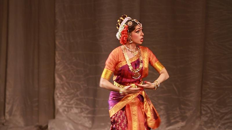 Конкурс по индийским танцам в индии